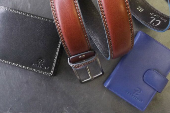 Small Leather Goods Header