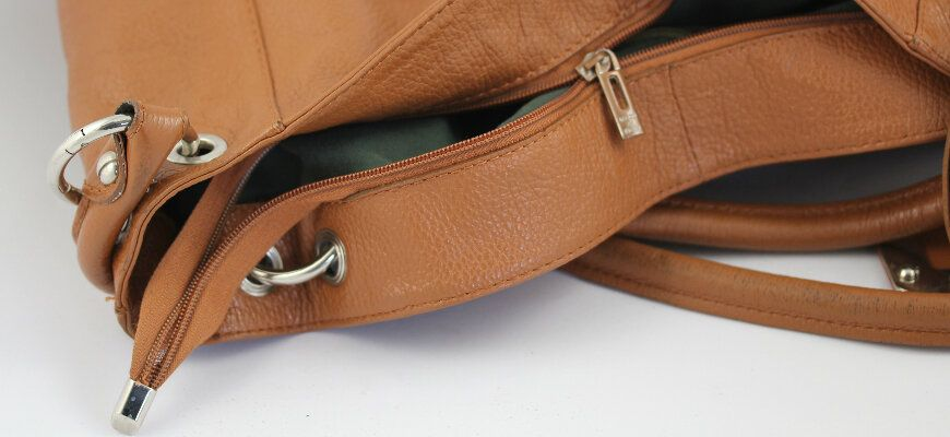 Handbag Broken Zipper