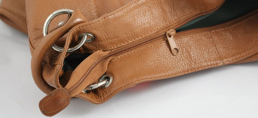 Handbag Fixed Zipper