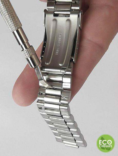Horlogebandjes verstellen