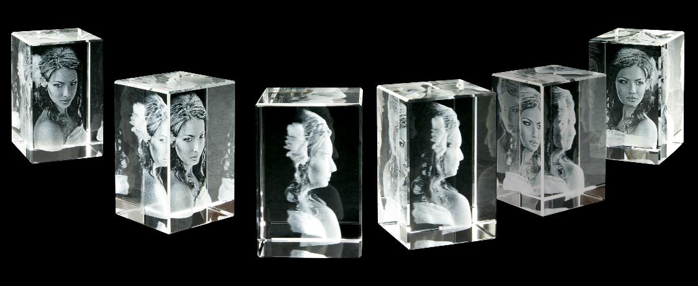 fotogravure in kristal
