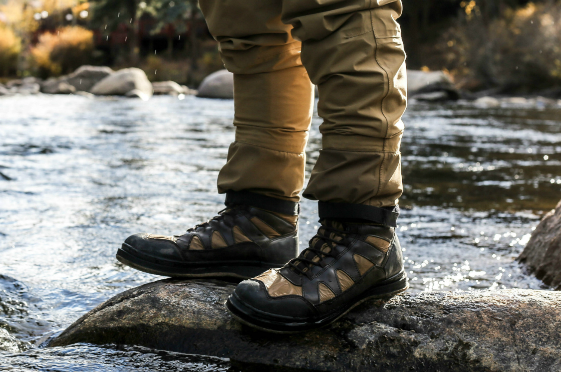 Hiking Boots In Water2