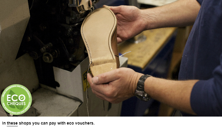 Stitiching of shoes