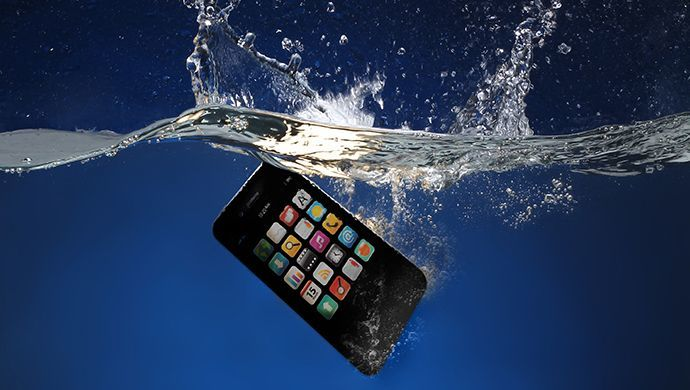 Dropped your phone into water?