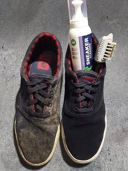 nettoyant-chaussure-sneakercleaner-avant-apres