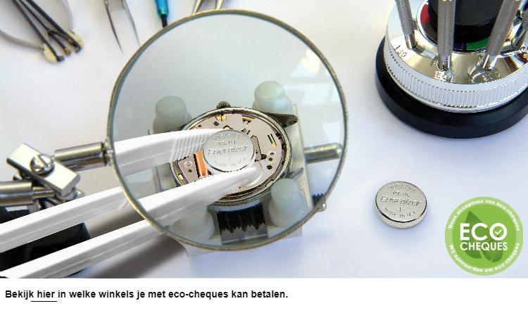 Horlogebatterij vervangen
