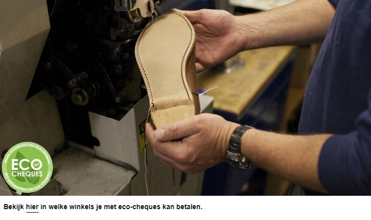 Stikken van schoenen
