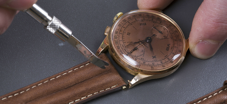 Uhrenarmband wechseln