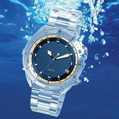 Water resistance test for watches