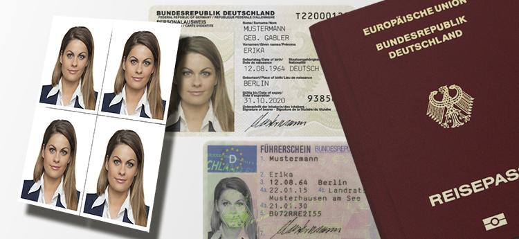 Biometrische Passfotos