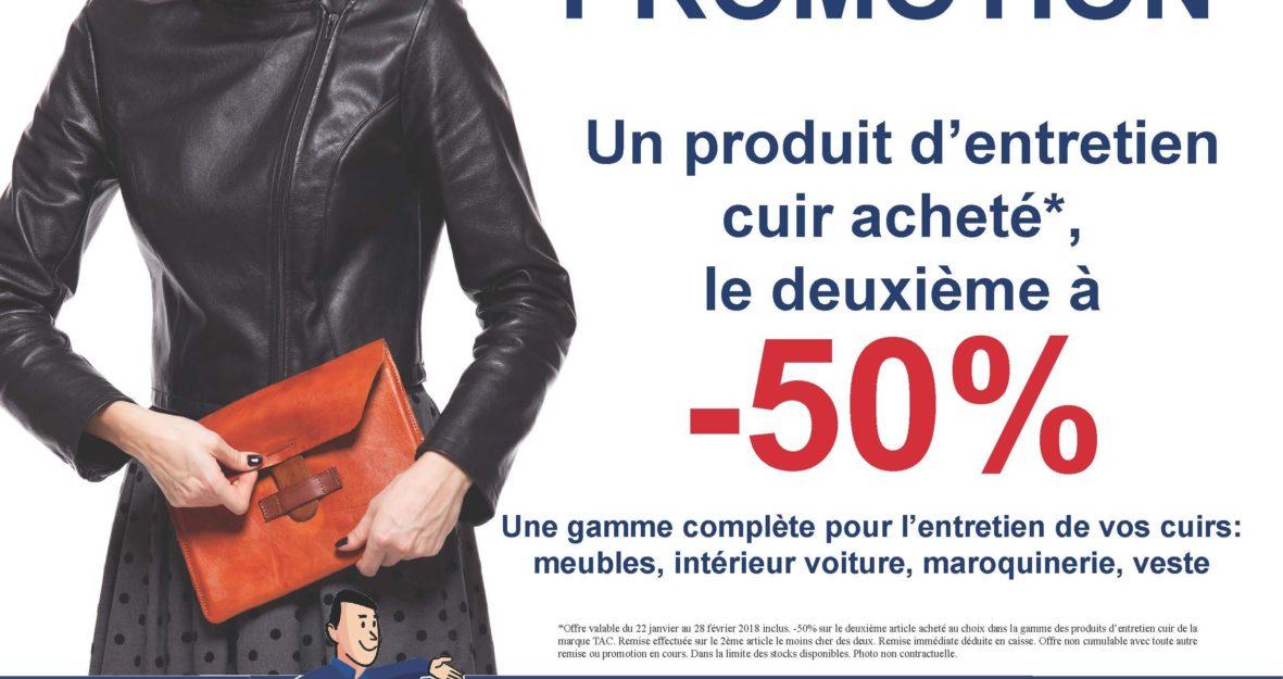 Promotion TAC produits
