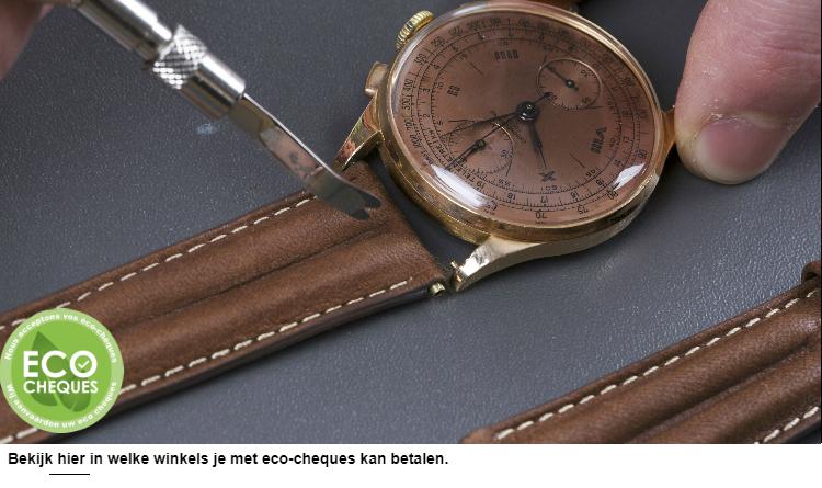 Vervanging van een horlogebandje